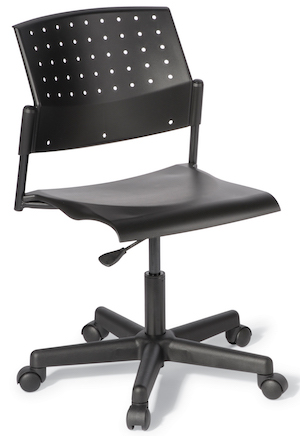B550 Black Swivel Chair