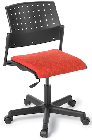 B550 Swivel Chair Upholstered Seat