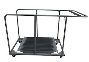 BM Round Folding Table Trolley