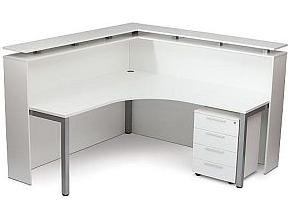 Cubit Full Hood Reception Desk