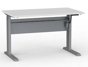 Cubit Highrise Electric Desk 1200