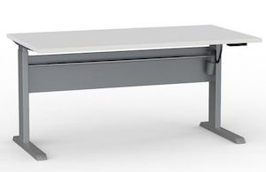 Cubit Highrise Electric Desk 1500
