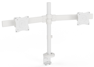 Dual Monitor Arms White
