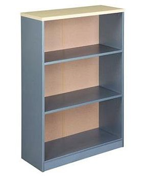 EKO 1200 Bookcase - Nordic Maple/Silver