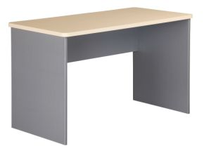 EKO 1200 Desk - Nordic Maple/Silver