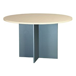 EKO 1200 Meeting Table - Nordic Maple/Silver