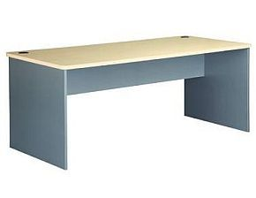 EKO 1800 Desk - Nordic Maple/Silver