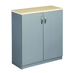 EKO 900 Cupboard - Nordic Maple/Silver