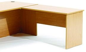 Ergoplan Fixed Desk Return