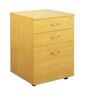 Ergoplan Mobile 2 Drawer 1 File Lockable