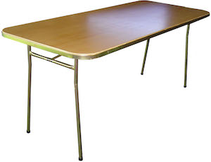 HD Folding Table 2100 x 750