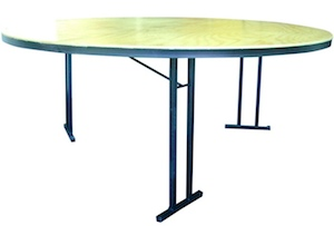 HDRB Round Folding Table 1800