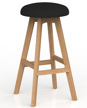 Luna Button Stool