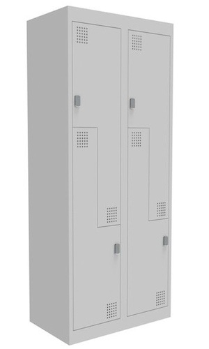 NZ 2 Step Bank of 2 Locker 375mm