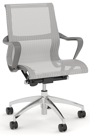 SCR Grey Mesh Chair