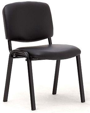 Swift Black Vinyl Chair