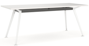 Team Table Rec 1800 White