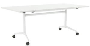 TF Flip Table White 1400x700