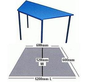 Trapezium Table 600