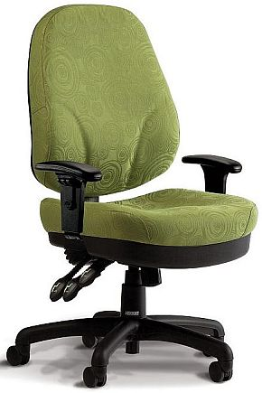Veda Heavy Duty Office Chair + Arms