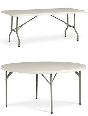 Lightweight Folding Table